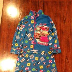 Lighting McQueen 2pc Pajama Set sz 4T